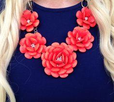 Spring Rose Necklace