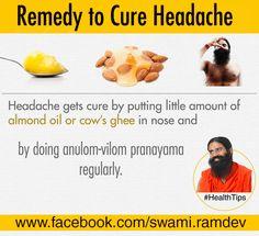 helpful home remedy for swelling and pain health tips health tipsremedy to cure headache baba ramdev yogathe curehealth tipsbenefitremedieshome remedies