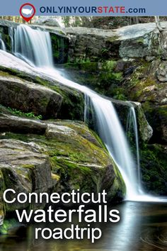 Travel | Connecticut | Attractions | USA | Things To Do | Road Trips | Places To Visit | Destinations | Getaways | Natural Beauty | Waterfalls | Adventure | Outdoors | Natural Wonders | State Parks | Day Trips | Small Towns | Hidden Gems | Plymouth | Buttermilk Falls | Roaring Brook Falls | Vacations | New England | Waterfall Road Trip