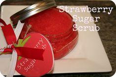 Strawberry Sugar Scrub Recipe