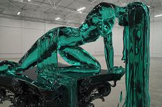 Captivating Ice Sculpture