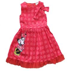 girl Casual dress summer 2016 brand baby girls clothes dress Cartoon mouse princess Print kids baby dresses for girls clothes