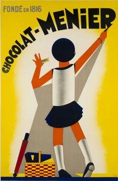 D'après Edia, 1 9 3 1, Chocolat-Ménier fondé en 1816. Art Deco(F)