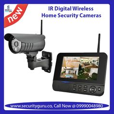 Buy best quality Security Camera Systems, IR Digital Wireless Home Security Cameras and CCTV Security Cameras with Security Guru at minimal cost. You can visit our website. If you have any other question or concern you can call to us at 09990048980 Best Home Security System, Security Camera System, Security Surveillance, Security Alarm, Surveillance System, Safety And Security, Security Service, Wireless Home Security Cameras, Wireless Video Camera