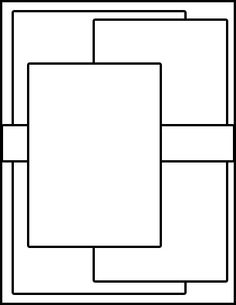 card layout idea rectangle
