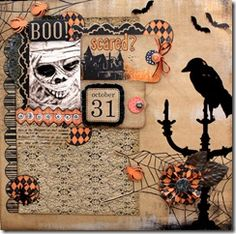 My Mind's Eye Halloween Grab Bag on www.CraftySteals.com