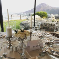 Wedding with a view. #simonstown #cape town #southafrica #mountains #wedding by thetravelmanuel
