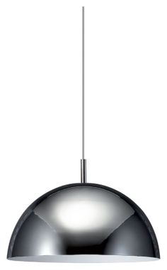 """Philips 402281148 Dome Contemporary Chrome Finish 15.75"""" Wide Hanging Light - PHI-402281148"""