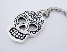 Resultado de imagem para mexican skull jewelry