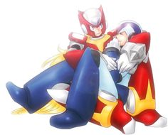 """Let's cuddle for a while, shall we? Mega Man, Akira, Proto Man, Megaman Zero, Megaman Series, Gay, Man Art, Anime Angel, Lovey Dovey"