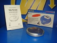 Reproductor CD portatil DISCMAN MX Onda - buen estado