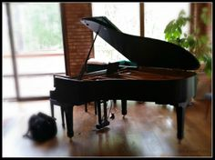"We love ""history stories"". This Yamaha C3 Darin serviced last week resides in a home once owned by Jimmy the Greek. A man best known for his personality in American sports and his ability to pick out the winners.   Who wouldn't love a job where you get to hear unique stories about people, their pianos, or even their 'famous' homes!"