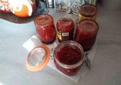 Μαρμελάδα τσίλι συνταγή από Κατερίνα Τσιτινίδου - Cookpad Chutney, Pudding, Homemade, Desserts, Diy, Food, Tailgate Desserts, Deserts, Bricolage