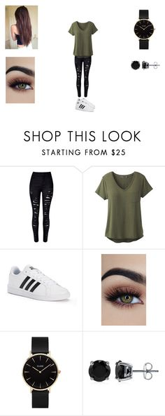 """Avenger Thor #1"" by victoriahoegh ❤ liked on Polyvore featuring WithChic, prAna, adidas, CLUSE and BERRICLE"