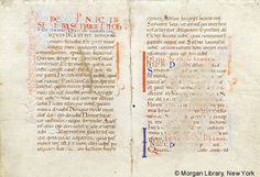 Lectionary, MS M.1037 fol. 2v - Images from Medieval and Renaissance Manuscripts - The Morgan Library & Museum