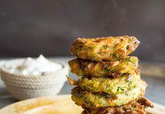 zucchinifritters1-1 Zucchini Fritters, Guacamole, Mexican, Ethnic Recipes, Food, Zucchini Tots, Essen, Meals, Yemek