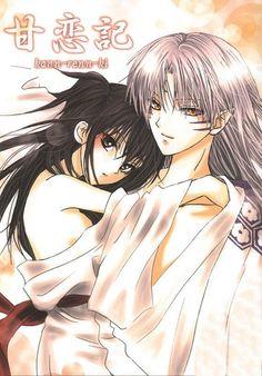 Sesshomaru and rin. ;-)