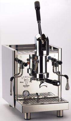 Bezzera Strega spring lever espresso machine for your home or office.