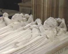 Tomb of King George V  Queen Mary in St. George's Chapel, Windsor. As a mark of respect to their father, George's four surviving sons, Edward, Albert, Henry, and George, mounted the guard, known as the Vigil of the Princes, at the catafalque on the night before the funeral.