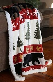 Tall Pine Throw Browse our collection of cabin bedding, rustic decor, handcrafted furniture and more! Fill your home with a country feel. Black Forest Decor, Rustic Bedding, Bedding Decor, Room Decor, How To Clean Pillows, Diy Rustic Decor, Textiles, Lodge Decor, Fleece Throw