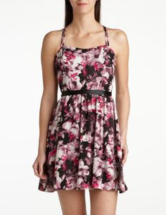 #racingstyle Adorable print dress, perfect for Spring Racing Events!