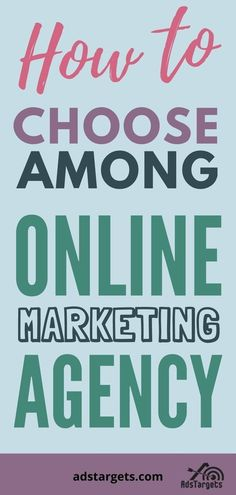 Need to hire an #onlinemarketing agency? Check out this blog to learn how. Online Marketing Agency, Online Advertising, Digital Marketing, Learning, Business, Check, Blog, Studying, Blogging