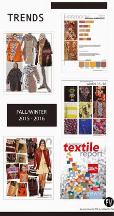 Trends // International Textile Report - A/W 2015-16