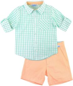 d1f0848dcb21e Polo Ralph Lauren Oxford Shirt and Shorts Set in 2019