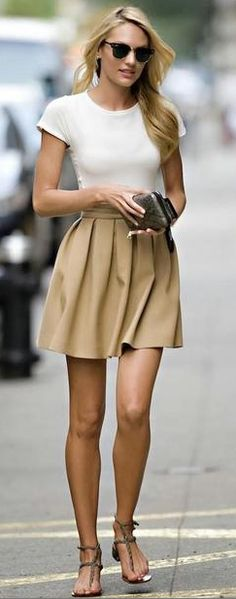 Broke and Bougie: Summer Work clothes on a budget (that also don't show sweat).#Skirts_Fashion