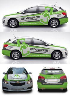 Energi Gym Car Wrap