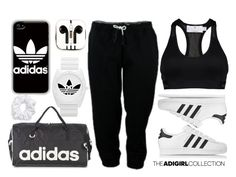 """""""Show Off Your adGIRL Style: Contest Entry"""" by xgracieeee ❤ liked on Polyvore featuring adidas, adidas Originals, PhunkeeTree, Natasha Couture and adigirl"""