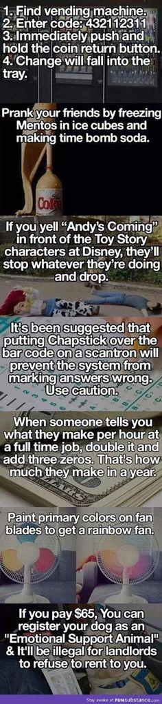 crazy life hacks