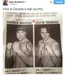 Shirtless, Boxing Prime Minister 21 Pictures That Prove That Canada Is Not A Real Country Stupid Memes, Stupid Funny, The Funny, Hilarious, Canada Jokes, Canada Eh, Canada Post, Canadian Memes, Canadian Things
