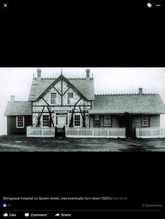 Shingwauk Hospital 1920 in Sault Ste. Marie Ontario