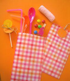 ctutorial para hacer bolsitas de papel por Holamama