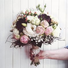 What a beautiful wedding bouquet! Made right here at Harmony by our in house florists
