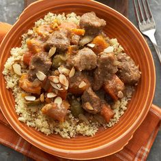 Gotta try this: Slow Cooker Moroccan Lamb Tagine Stew: cumin, tumeric & cinnamon!