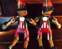 Pinocchio marionnette en vente pour les deux