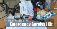 7 Things To Keep In An Emergency Survival Kit