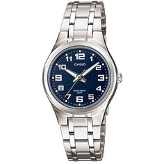 e82c15798b45 Casio Women s Core LTP1310D-2BV Silvertone Stainless Steel Quartz Watch  with Dial Casio Mujer