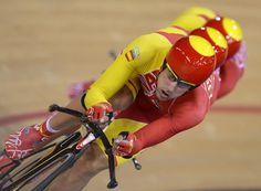 Ciclismo en pista. España