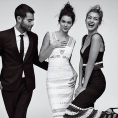 Featured alongside Kendall Jenner and Gigi Hadid in the November issue of Vogue, CFDA/Vogue Fashion Fund finalist Jonathan Simkhai makes sophisticated party pieces that are a little bit sporty and very sleek. Look just as good as these two model BFFs with our lyst of sets and separates fit for the months ahead. Photo: @gigihadid Instagram