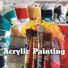 Art Classes about Acrylic Painting for youth and adults. Whether you are a beginner, intermediate or advanced, there is a class for you!