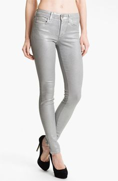Joe's Coated Skinny Stretch Jeans (Silver Rock) available at #Nordstrom