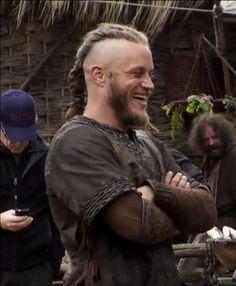 Travis Fimmel - On the set of Vikings