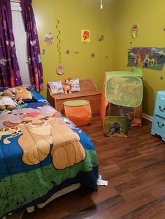Lion Guard Room Pic 3 Sorry About The My Little Pony Curtains Hadleys Grancie Is