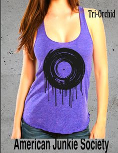Hipster Graphic Tee,Vinyl Record Tank Shirt Top Hipster Grunge (Tank American Apparel)Top Racerback Tank-girls gift''__()Instagram Like by AmericanJunkieSoc on Etsy https://www.etsy.com/listing/239178856/hipster-graphic-teevinyl-record-tank
