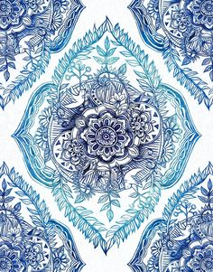 Indian Ink - in blues by micklyn