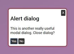 The aria-dialog #jQuery plugin allows you to create basic #modal windows & alert dialog boxes with Aria attributes and roles for screen reader accessibility.
