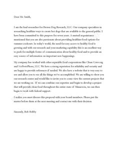 letter of interest template free